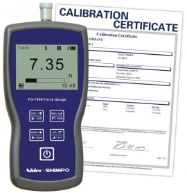 SHIMPO FG-7002-NIST Digital Force Gauge/Data Logger,  -