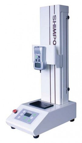 SHIMPO FGS-100EL Low Speed Vertical Motorized Test Stand, 110 lb (50 kg)-