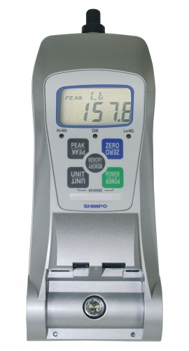 SHIMPO FGV-500HXY High Capacity Digital Force Gauge, 500 lbs-