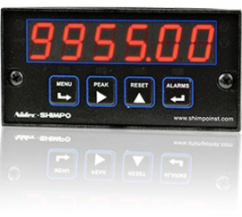 SHIMPO PC-FRB-000C1 Process Counter/Totalizer, RS-232 Communication Output-