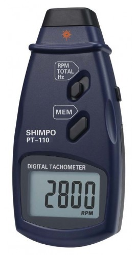 SHIMPO PT-110 Non-Contact Tachometer/Data Logger