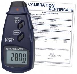 SHIMPO PT-110 Non-Contact Tachometer/Data Logger,