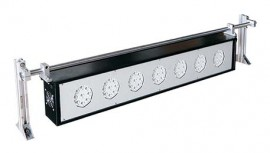 "SHIMPO ST-329BL-8 Blacklight LED Stroboscope Array, 63"" (1600 mm), 120 VAC, 99 LED's in 11 groups-"