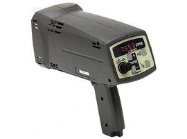 SHIMPO DT-725 Battery Powered Stroboscope, 115V AC Charger-